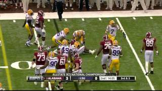 Tyrann Mathieu vs Alabama (BCS Championship Game)
