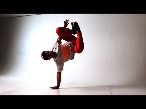 Элементы Брейк Данса: стойка на руках. Видео урок.