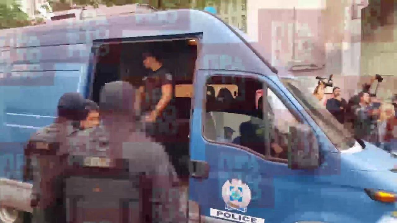 Απαγωγή Λεμπιδάκη: Γιουχαΐσματα στους φερόμενους δράστες