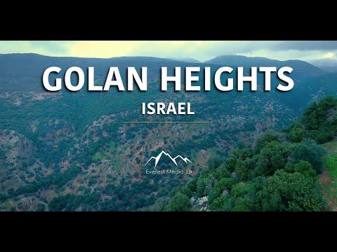 A beleza bíblica das colinas de Golan