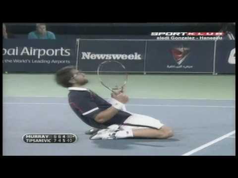 Victoria de Janko Tipsarevic sobre Andy Murray en Dubai 2010