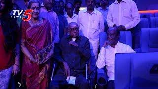 kabali rajinikanth watches kabali movie with cho ramaswamy chennai tv5 news