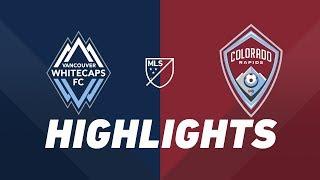 Vancouver Whitecaps FC vs. Colorado Rapids | HIGHLIGHTS - June 22, 2019 by Major League Soccer