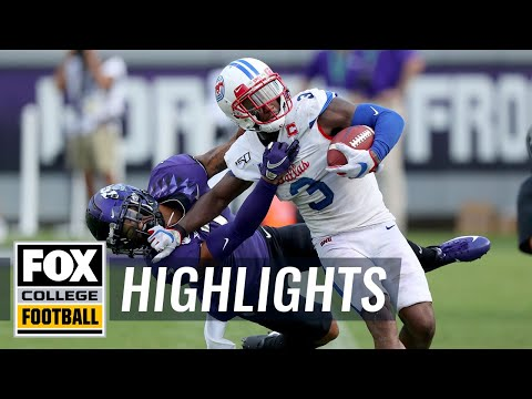 Video: SMU upsets No. 25 TCU, wins Iron Skillet for first time since 2011 | FOX COLLEGE FOOTBALL HIGHLIGHTS