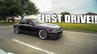 FIRST DRIVE IN THE R33 GTR 4 DOOR!! by Evan Shanks