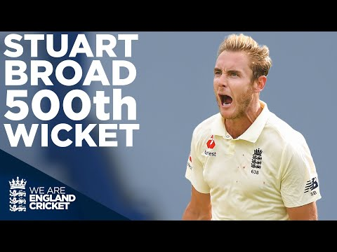 Incredible Broad Takes 500th Wicket! | Stuart Broad Best Moments | England v West Indies 2020