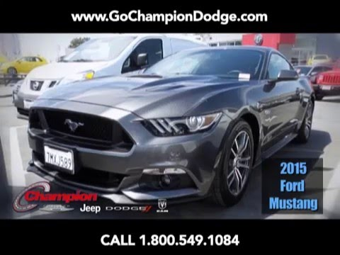 USED 2015 Ford Mustang GT for Sale - Los Angeles, Cerritos, Downey, Costa Mesa CA - PREOWNED DEAL