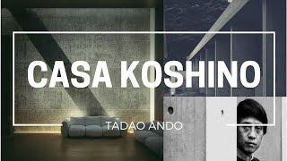 La Casa Koshino es uno de los proyectos realizados por Tadao Ando. Fue proyectada como una casa de fin de semana, para la diseñadora de modas Hiroko Koshino que necesitaba un lugar para trabajar en sus diseños para el festival de modas en Kobe.Fue proyectado entre 1979 y 1981, ubicada entre las ciudades japonesas de Osaka y Kobe.