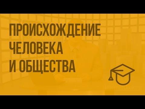 Происхождение человека и общества (видео)
