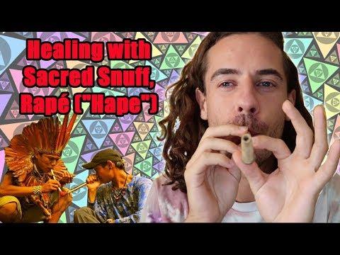 "Healing with Sacred Snuff, Rapé (""Hape"") | To Higher Consciousness"