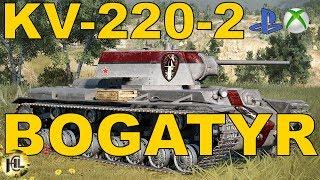 KV-220-2 Bogatyr Stalowy gigant [Wasze bitwy#82][Przemekz17082]Wot Xbox One/Ps4.