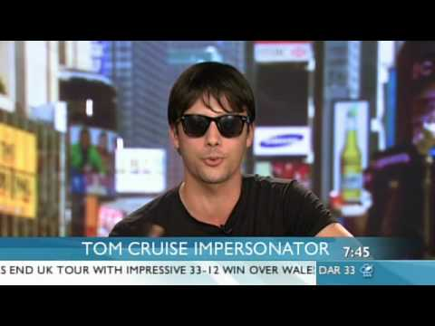 impersonator - Evan Ferrante says he is on real Tom's 'radar'. Follow Sunrise on twitter twitter.com/sunriseon7.