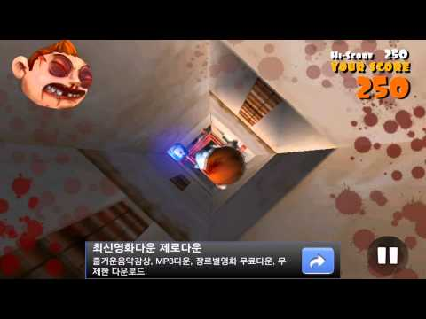 falling fred game play super falling fred iphone gameplay video