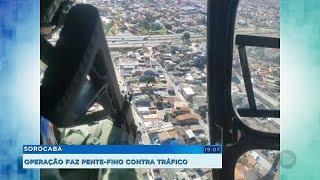 PM faz operação pente-fino contra o tráfico e outros crimes em Sorocaba
