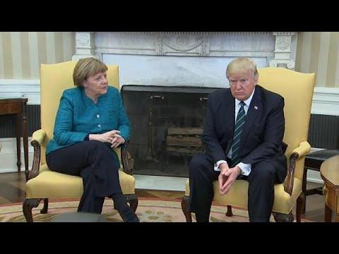 Merkel triff Trump: Frostige Stimmung vorprogrammie ...