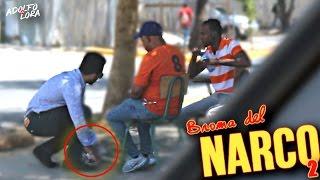 Broma pesada entregando coca a un seguridad!! (ME LLAMAN AL 911) | Adolfo Lora