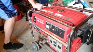 7. Honda 5000 watt generator 5592