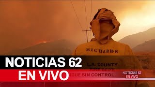 Incendio Bobcat continua sin control – Noticias 62 - Thumbnail
