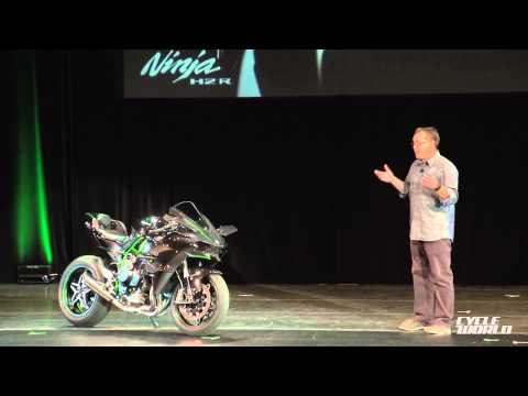 Kawasaki Ninja H2R Superbike Presentation Video From AIMExpo 2014