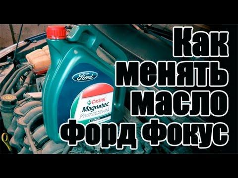 емкость масла в двигателе форд фокус