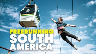 South America's Craziest Freerunning Spots w/ Jason Paul, Pasha Petkuns & Dimitris Kyrsanidis by Red Bull