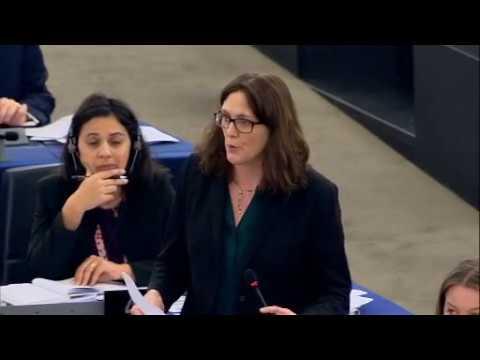 La Commissaire Cecilia Malmström répond aux inquiétudes du secteur bovin