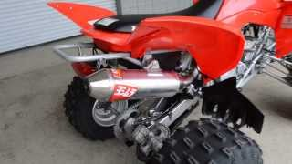 7. Honda TRX400X Yoshimura Exhaust Video & Sound Clip / Chattanooga TN PowerSports Dealer (TRX400EX)