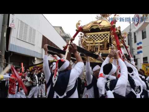 南あわじ・福良八幡神社の春季例大祭