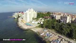 Pomorie Bulgaria  City pictures : Pomorie, Bulgaria - (Flight video) Travel Channel Slovakia