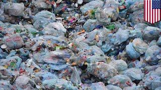 BUMI AKAN TERKUBUR OLEH TUMPUKAN SAMPAH PLASTIK Kita akan menjadi Planet Plastik. Sebuah penelitian baru mengungkapkan semua jumlah ...