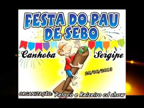 Propaganda da Festa do Pau de Sebo em Canhoba se