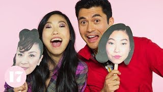 Video Henry Golding and Awkwafina from Crazy Rich Asians Play The Ultimate Superlative Challenge MP3, 3GP, MP4, WEBM, AVI, FLV Oktober 2018
