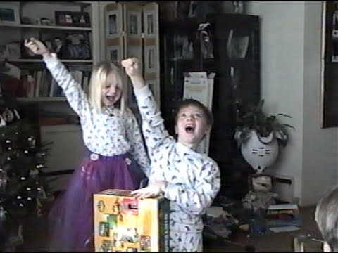 64 - Kid gets an n64 for christmas and gets way too excited Nintendo Sixty-FOOOOOOOOOOUR!!!!!! N64KID.COM.