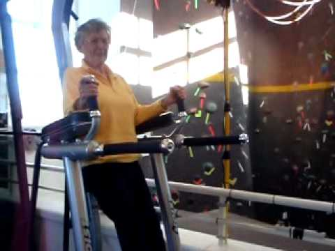 Senior Citizen healthy lifestyle fitness exercise older adult elderly women Maxine Pogreba