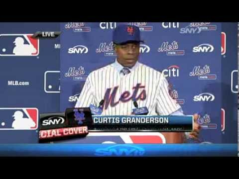 Video: Curtis Granderson Meets the Mets - 12/10/13