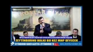 MHP Zeytinburnu Belediye Başkan Adayı Av Fethi Ahmet Alparslan'a Gagkoşlardan Çayda Çıralı Karşılama