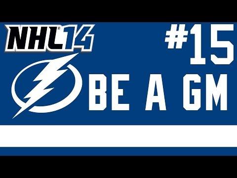 "NHL 14: Be a GM Tampa Bay Lightning Ep. 15 – ""Starting Year 3"""