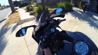 10. 2015 Yamaha YZF R1 100 mile review