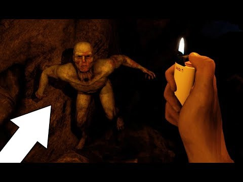 野人模擬器 在洞內深處發現遺跡?
