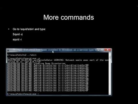 comment installer proxy
