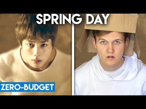 K-POP WITH ZERO BUDGET! (BTS- Spring Day)
