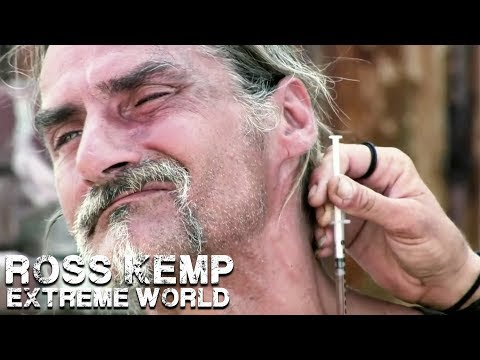 Injecting Speedball (Crack & Heroin) | Ross Kemp Extreme World