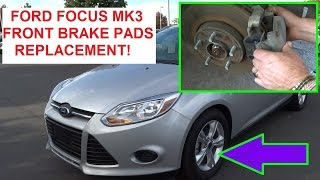 Nonton Front Brake Pads Replacement Ford Focus 2012 2013 2014 2015  How To Replace The Front Brakes Film Subtitle Indonesia Streaming Movie Download