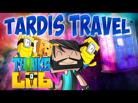 Minecraft Mods : Think's Lab - Doctor Who Museum Exhibit! [Minecraft Roleplay]