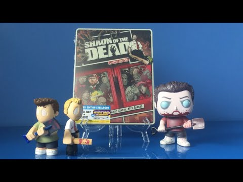 Shaun Of The Dead Limited Edition BluRay Unboxing