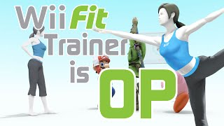 Wii Fit Trainer is OP – Sm4sh Montage