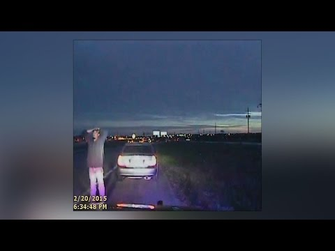 Raw video: Dashcam footage from Garcia-Villalpando shooting