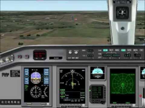 Embraer 170,pouso Bauru Arealva