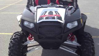 8. RANGER RZR 4 800 EPS BLK/WHT/Red RG LE Robby Gordon Edition