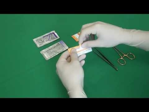CSL: Entnahme einer Nadel-Faden-Kombination